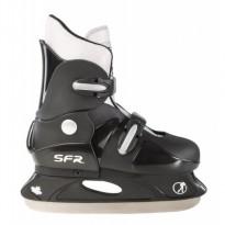 Коньки фигурные Hardboot Ice Skate SFR074 (черно-розовые)