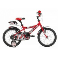Вилосипед Bottecchia BOY COASTERBRAKE 16 (красный)