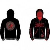 Куртка для рыбалки с капюшоном Lucky John LJ-103-XXXL (чёрная)