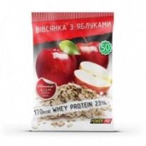 Сублимированный рацион(каша овсяная) Power Pro 50 g, вкус яблоко