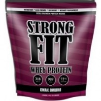 Протеин сывороточный Strong Fit Whey Protein 909 g, вкус брауни