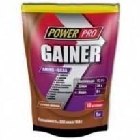 Гейнер Power Pro 1000 g, вкус шоколад