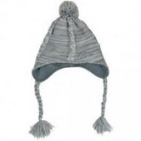 Шапка непродуваемая Extremities Cable Knit Took (Grey Marl) рр.one size