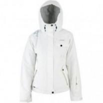 Куртка сноубордическая женская Campus LEDA (белый) рр.XL