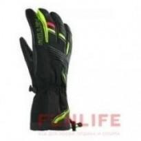 Перчатки для горнолыжного спорта Millet VULCANO GLOVE NOIR/ACID GREEN разм.S