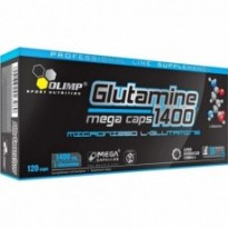 Аминокислота (глютамин) Olimp L-Glutamine Mega Caps blister , 120 капсул