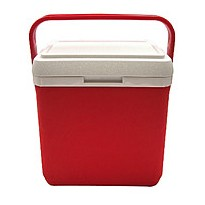 Изотермический холодильник Mega 08 литров (красный)
