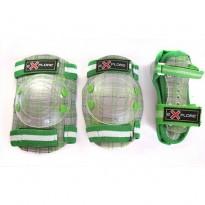 Защита для рол.коньков Explore Cooper - Boy, green (S)