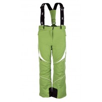 Штаны для горнолыжного спорта Campus IZIS (белый/зеленый) рр.XS