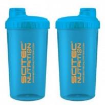 Шейкер Power Pro неон Logo, цвет голубой