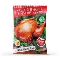 Сублимированный рацион(каша пшеничная) Power Pro 50 g, с мясом курицы