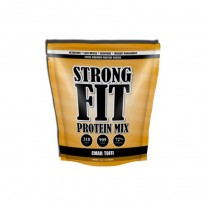 Протеин сывороточный Strong Fit Whey MIX  Protein 909 g, вкус toffi