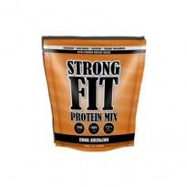 Протеин сывороточный Strong Fit Whey MIX  Protein 909 g, вкус апельсин