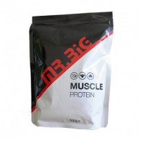 Протеин сывороточный Mr.Big Muscle Protein Cookies and Cream (500 g)