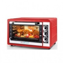 Духовка электро Housetech 15003 red