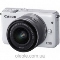 Цифровой фотоаппарат Canon EOS M10 + 15-45 IS STM Kit White