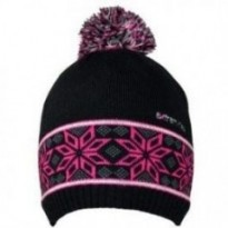 Шапка Extremities Pattern Knit Beanie  (Black) рр.one size