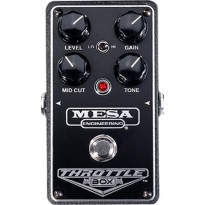 MESA BOOGIE THROTTLEBOX Педаль дисторшн, контроль - Level, Gain, Mid Cut, Tone, LO/HI Boost. Питание
