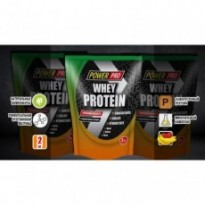 Протеин сывороточный Power Pro Whey Protein 2000 g, вкус банан+земляника