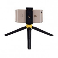 Палка для селфи Momax Selfie Tripod Stable Handy Black/Yellow (TRS2Y)