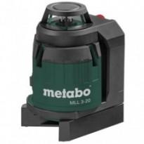 Невилир лазерный Metabo Multi line laser MLL 3-20 (606167000)