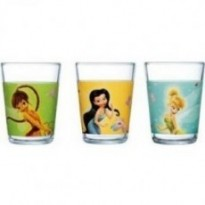 Набор детских стаканов Luminarc Disney Fairies Butterfly 3*160 мл (H5836)