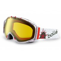 Горнолыжная маска Bolle PIERRE VAULTIER  ATHLETE SIGNATURE SERIES CITRUS GOLD (2013 г)
