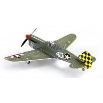 Самолет FMS Mini Curtiss P-40 Warhawk V2 Camo RTF 800 мм 2,4 ГГц (FMS014)
