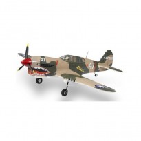 Самолет FMS Curtiss P-40 Warhawk PNP 1400 мм (FMS013 Camo)