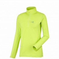 Пуловер флисовый Millet TECH STRETCH TOP ACID GREEN разм.S