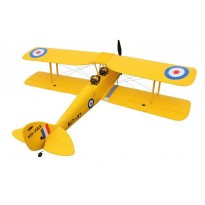 Самолет Dynam De Havilland Tiger Moth Brushless RTF 1270 мм 2,4 ГГц (DY8957 RTF)