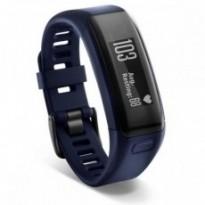 Спортивный браслет Garmin Vivosmart HR Blue, Regular (+ датчик ЧСС)