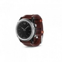 Туристический навигатор Garmin fenix 3,Sapphire, Silver with Leather Band, Performer Bundle