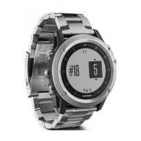 Спортивные часы с GPS Garmin fenix 3 HR, Glass & Titanium, Silver