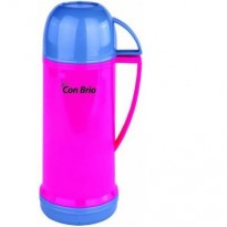 Термос Con Brio CB350 450мл, стекло, розовый