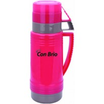 Термос Con Brio CB351 600мл, стекло, розовый