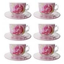 Сервиз чайный Luminarc Pastel pink 220мл, 12пр 00835