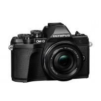 Цифровой фотоаппарат Olympus E-M10 mark III Pancake Zoom 14-42 Kit black/black