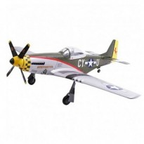 Самолет Art-Tech P-51D Mustang 400CL Brushless RTF 965 мм 2.4ГГц (AT21084)