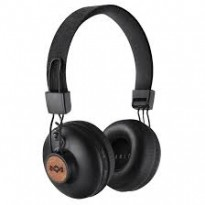 Наушники накладные House of Marley Bluetooth Positive Vibration BT Signature Black (EM-JH133-SB)