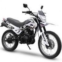 Мотоцикл бензиновый Spark SP150D-1 Gree-White