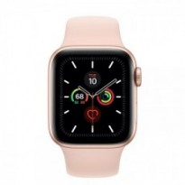 Часы Apple Watch Series 5 GPS 40mm Gold Aluminum Case with Pink Sand Sport Band MWV72 US