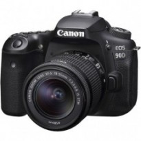 Цифровой фотоаппарат Canon EOS 90D + 18-55 IS STM