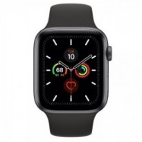 Часы Apple Watch Series 5 GPS 44mm Space Gray Aluminum Case with Black Sport Band MWVF2