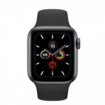 Часы Apple Watch Series 5 GPS 40mm Space Gray Aluminum Case with Black Sport Band MWV82 US