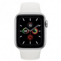 Часы Apple Watch Series 5 GPS 40mm Silver Aluminum Case with White Sport Band MWV62 US