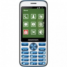 Смартфон Assistant AS-204 Dual Sim Blue