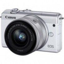 Цифровой фотоаппарат Canon EOS M200 + 15-45 IS STM White