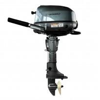 Лодочный мотор  GRUNWELT GW-600WK, 6,0л.с.,  4тактный, водяное охлаждение