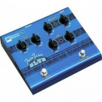 SEYMOUR DUNCAN SFX-11 Twin Tube Blue Педаль эффектов для электрогитары, дисторшн/овердрайв